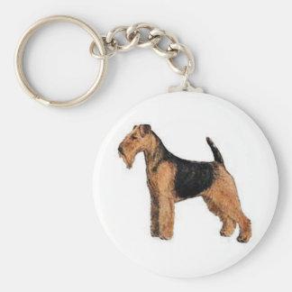 Welsh Terrier Keychain