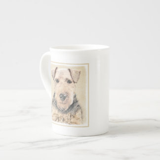 Welsh Terrier Painting - Cute Original Dog Art Tea Cup