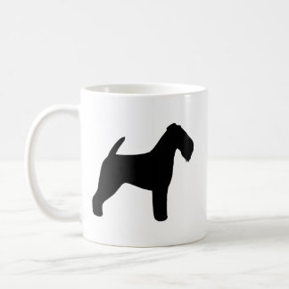 Welsh Terrier Silhouettes Coffee Mug