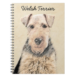 Welsh Terrier Spiral Notebook
