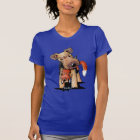 Welsh Terrier With Toy Fox T-Shirt