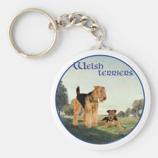 Welsh Terriers Keychain