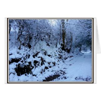 Welsh Winter Card