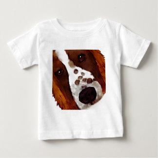 Welshie Face Art Baby T-Shirt