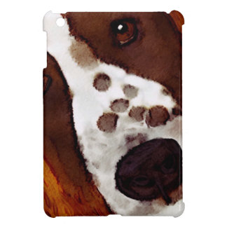 Welshie Face Art iPad Mini Cover