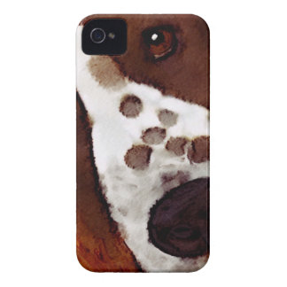 Welshie Face Art iPhone 4 Case-Mate Cases