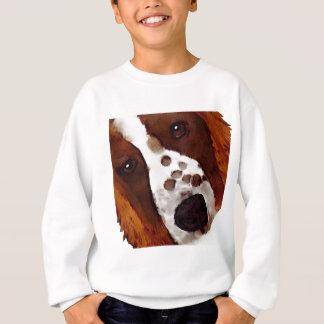 Welshie Face Art Sweatshirt