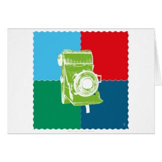 Welta Weltur camera Greeting Card