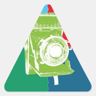 Welta Weltur camera Triangle Sticker