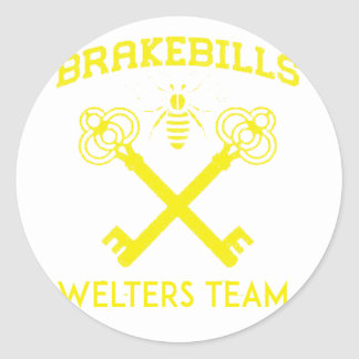 Welters Classic Round Sticker