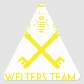 Welters Triangle Sticker