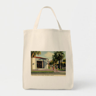 Welwood Library, Palm Springs, California Vintage Tote Bag