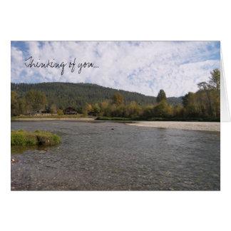Wenatchee River Card