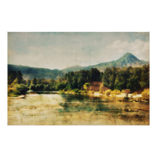 Wenatchee River Poster