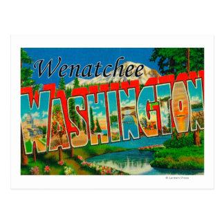 Wenatchee, WashingtonLarge Letter Scenes Postcard