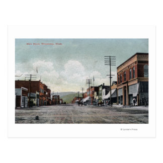 Wenatchee, WashingtonView of Main Street Postcard