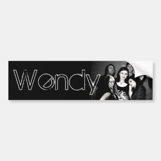 Wendy Bumper Sticker