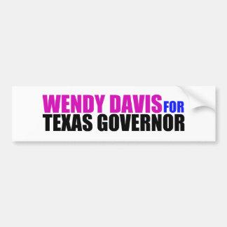 Wendy Davis for Texas Governor Bumper Sticker