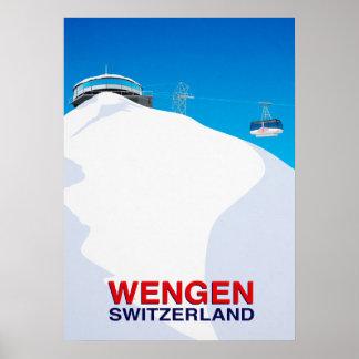 Wengen Poster