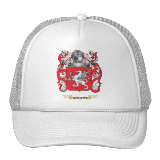 Wente Family Crest (Coat of Arms) Hats