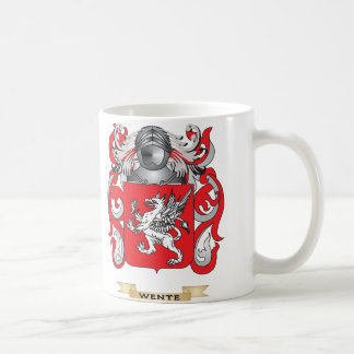 Wente Family Crest (Coat of Arms) Coffee Mugs