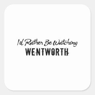 Wentworth Prison Square Sticker
