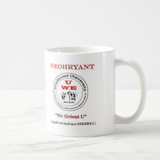 Weohryant University Coffee Mug