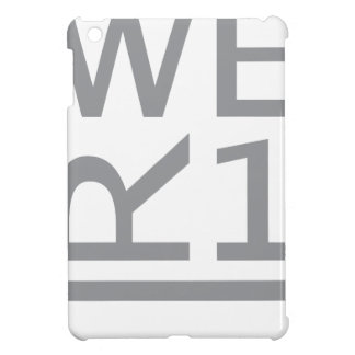 WER1 T-SHIRT iPad MINI CASE