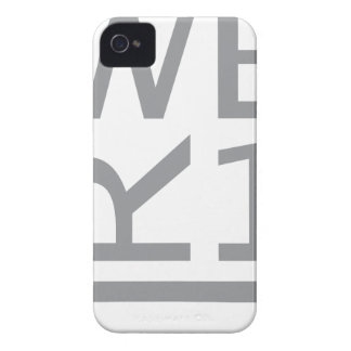 WER1 T-SHIRT iPhone 4 CASE