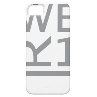 WER1 T-SHIRT iPhone 5 COVER