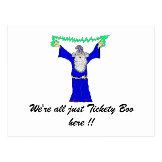 We're all just Tickety Boo... Postcard