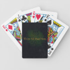 We're All Mad Here Bicycle Playing Cards