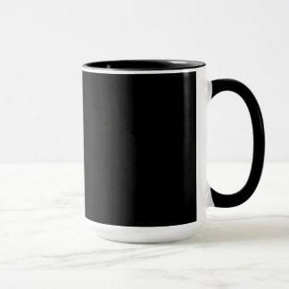 We're All Mad Here - Black Mug