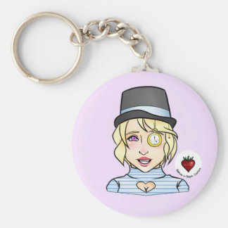 We're All Mad Here - Keychain