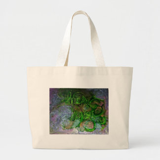 """We're All Mad Here"" Large Tote Bag"