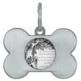 We're All Mad Here Pet ID Tag