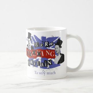"we're ""backing Britain""MUG Coffee Mug"