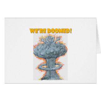 We're Doomed! Card