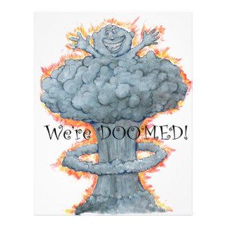 We're DOOMED! Letterhead