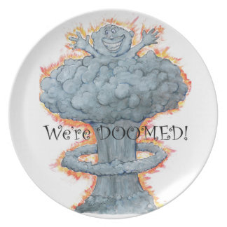 We're DOOMED! Plate