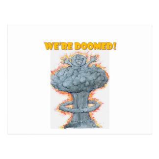 We're Doomed! Postcard