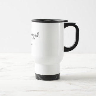 We're Engaged (Rings) Coffee Mugs