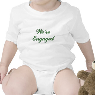 Were Engaged Baby Bodysuits