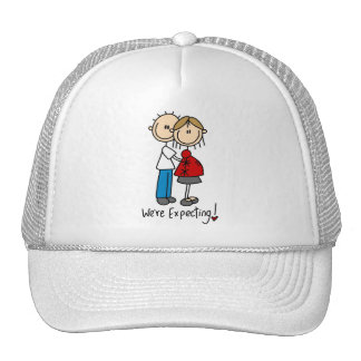 We're Expecting Baby Tshirts and gifts Mesh Hat