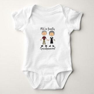 We're Finally Grandparents! Baby Bodysuit