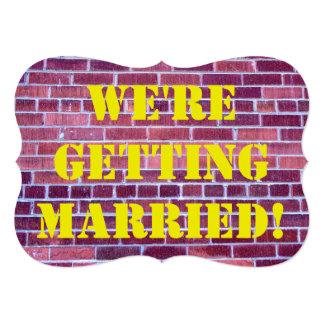 We're Getting Married! Card