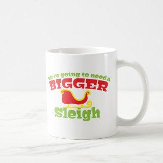 We're going to need a BIGGER SLEIGH! Christmas fun Coffee Mug