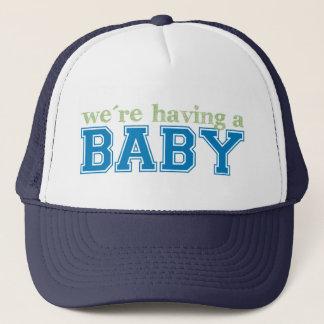 We're Having a Baby Trucker Hat