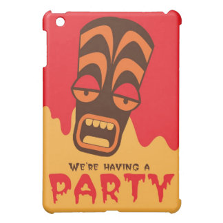 We're having a party TIKI SCREAM mask Cover For The iPad Mini