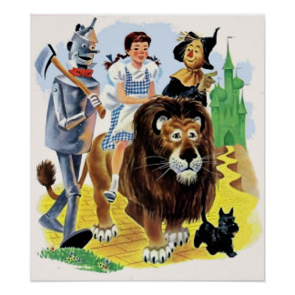 We're off to See the Wizard Poster